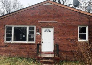 Casa en ejecución hipotecaria in Capitol Heights, MD, 20743,  EDEN AVE ID: F3920703