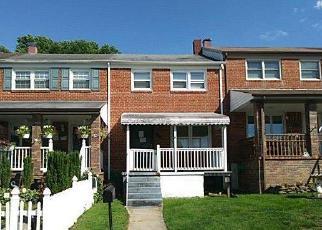 Casa en ejecución hipotecaria in Baltimore Condado, MD ID: F4158318
