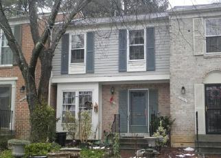 Casa en ejecución hipotecaria in Montgomery Condado, MD ID: F4234240