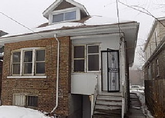 Casa en ejecución hipotecaria in Chicago, IL, 60619,  S CALUMET AVE ID: F4253566