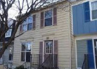 Foreclosure Home in Frederick, MD, 21702,  MURDOCK CT ID: F4253604