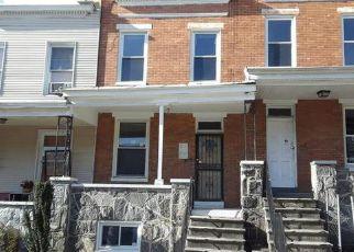 Casa en ejecución hipotecaria in Baltimore, MD, 21218,  BARTLETT AVE ID: F4267638