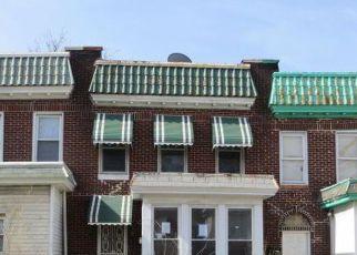 Casa en ejecución hipotecaria in Baltimore, MD, 21218,  BONAPARTE AVE ID: F4267899