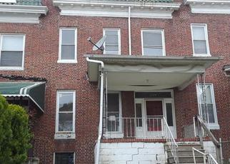 Casa en ejecución hipotecaria in Baltimore, MD, 21215,  NORFOLK AVE ID: F4270103