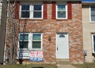 Casa en ejecución hipotecaria in Frederick, MD, 21702,  FAIRFIELD DR ID: F4282396
