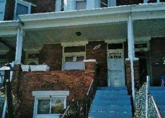 Foreclosure Home in Baltimore, MD, 21216,  CALVERTON HEIGHTS AVE ID: F4286320