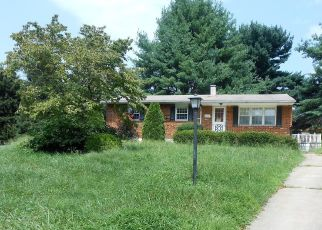 Foreclosed Home en GLASGOW CIR, Sykesville, MD - 21784