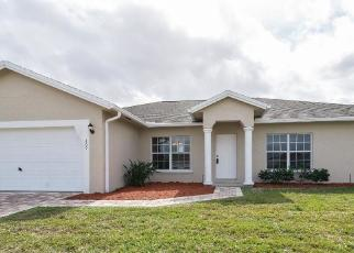 Foreclosed Home in SW FIELDS AVE, Port Saint Lucie, FL - 34953