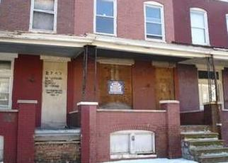 Foreclosed Home en W FAIRMOUNT AVE, Baltimore, MD - 21223
