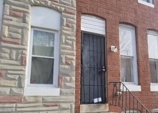 Foreclosed Home en N CASTLE ST, Baltimore, MD - 21213