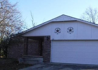 Foreclosed Home in COUNTRY CLUB DR, Bristow, OK - 74010