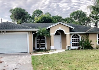 Foreclosed Home in SW GIRALDA ST, Port Saint Lucie, FL - 34953