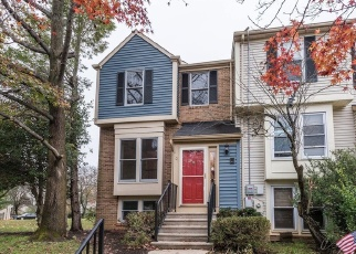 Foreclosed Home in LORING DR, Columbia, MD - 21045