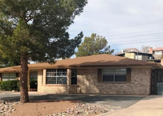Foreclosed Home in OAK CLIFF DR, El Paso, TX - 79912