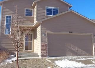 Casa en ejecución hipotecaria in Peyton, CO, 80831,  DAKOTA DUNES LN ID: F4338640