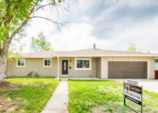Foreclosure Home in Greeley, CO, 80631,  16TH AVENUE CT ID: F4366231