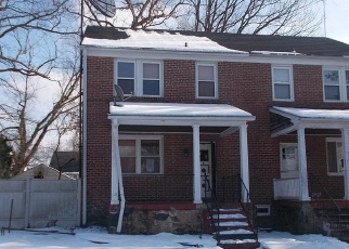 Casa en ejecución hipotecaria in Gwynn Oak, MD, 21207,  MARMON AVE ID: F4372973