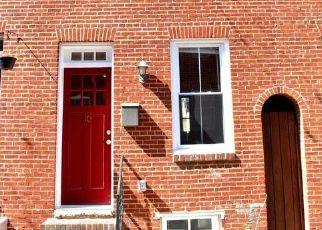 Casa en ejecución hipotecaria in Baltimore, MD, 21231,  S CASTLE ST ID: F4383580
