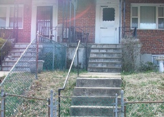 Foreclosed Home en MOUNTWOOD RD, Baltimore, MD - 21229