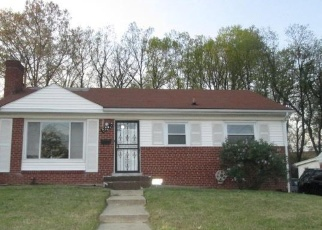 Foreclosed Home en DISTRICT HEIGHTS PKWY, District Heights, MD - 20747