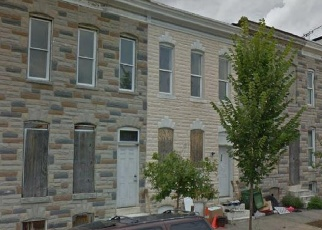 Foreclosed Home in S PAYSON ST, Baltimore, MD - 21223