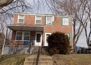 Foreclosed Home en EUGENE AVE, Baltimore, MD - 21206