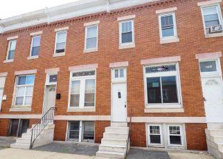 Casa en ejecución hipotecaria in Baltimore, MD, 21218,  CECIL AVE ID: F4405186