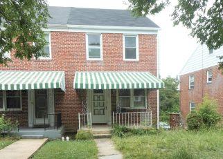 Casa en ejecución hipotecaria in Baltimore, MD, 21214,  MORAVIA RD ID: F4406286