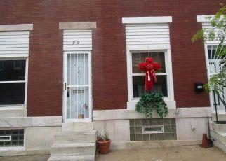 Casa en ejecución hipotecaria in Baltimore, MD, 21205,  N KENWOOD AVE ID: F4406987