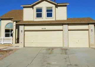 Casa en ejecución hipotecaria in Fountain, CO, 80817,  CAMINO DEL REY ID: F4407772