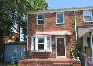 Casa en ejecución hipotecaria in Dundalk, MD, 21222,  KAVANAGH RD ID: F4412222