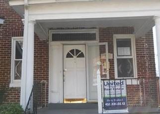 Casa en ejecución hipotecaria in Baltimore, MD, 21215,  RIDGEWOOD AVE ID: F4418764