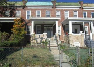 Casa en ejecución hipotecaria in Baltimore, MD, 21215,  RIDGEWOOD AVE ID: F4420449