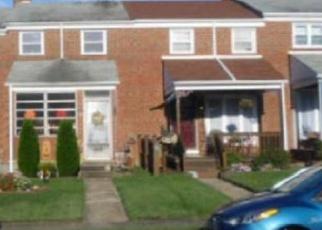 Casa en ejecución hipotecaria in Dundalk, MD, 21222,  WAREHAM RD ID: F4426477