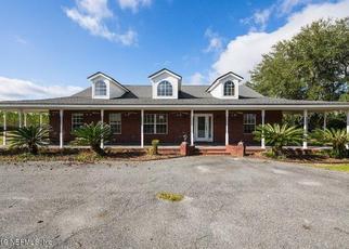 Casa en ejecución hipotecaria in Bryceville, FL, 32009,  FARRIER PL ID: F4438159