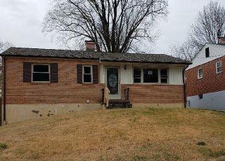 Casa en ejecución hipotecaria in Roanoke, VA, 24017,  CAMILLE AVE NW ID: F4442758