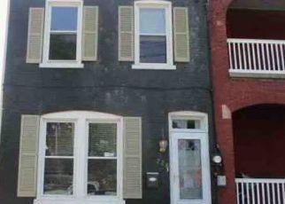 Casa en ejecución hipotecaria in Lancaster, PA, 17603,  CRYSTAL ST ID: F4455842