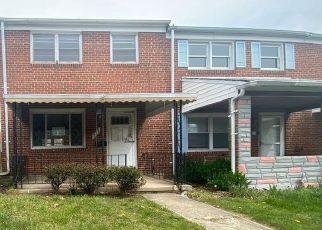 Casa en ejecución hipotecaria in Middle River, MD, 21220,  LANNERTON RD ID: F4476526