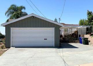 Foreclosure Home in La Mesa, CA, 91941,  YALE AVE ID: F4480832