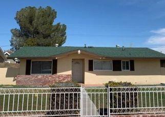 Casa en ejecución hipotecaria in Rosamond, CA, 93560,  ORANGE ST ID: F4481410