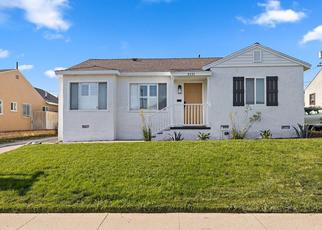 Casa en ejecución hipotecaria in Los Angeles, CA, 90047,  W 109TH PL ID: F4492571