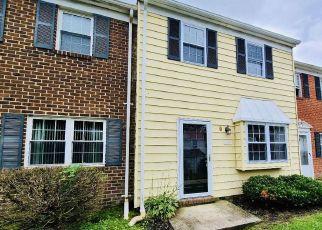 Casa en ejecución hipotecaria in Glen Burnie, MD, 21061,  CONTINENTAL DR ID: F4495682