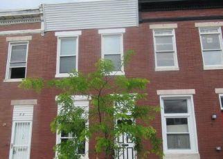 Casa en ejecución hipotecaria in Baltimore, MD, 21205,  N KENWOOD AVE ID: F4497910