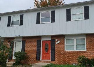 Casa en ejecución hipotecaria in Glen Burnie, MD, 21061,  MAINVIEW CT ID: F4511809