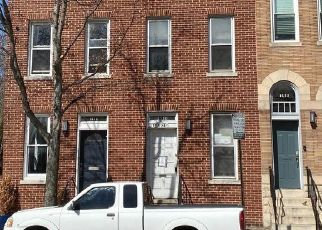 Casa en ejecución hipotecaria in Baltimore, MD, 21231,  E BALTIMORE ST ID: F4524960