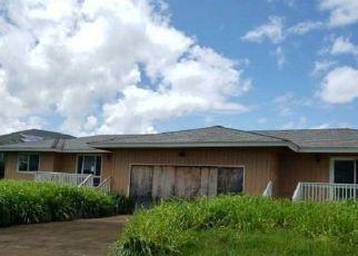Foreclosure Home in Kapaa, HI, 96746, A KAWAIHAU RD ID: F4525813