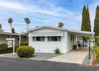 Foreclosure Home in San Marcos, CA, 92078,  E BARHAM DR SPC 120 ID: F4526408