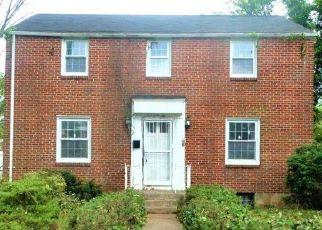 Casa en ejecución hipotecaria in Pikesville, MD, 21208,  COLONIAL RD ID: F4529121