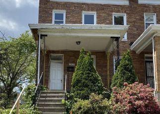 Casa en ejecución hipotecaria in Baltimore, MD, 21216,  N SMALLWOOD ST ID: F4529127