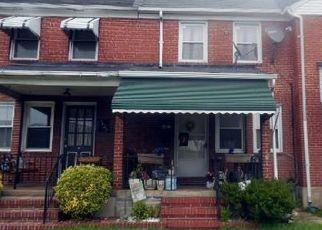 Casa en ejecución hipotecaria in Baltimore Condado, MD ID: F4529929